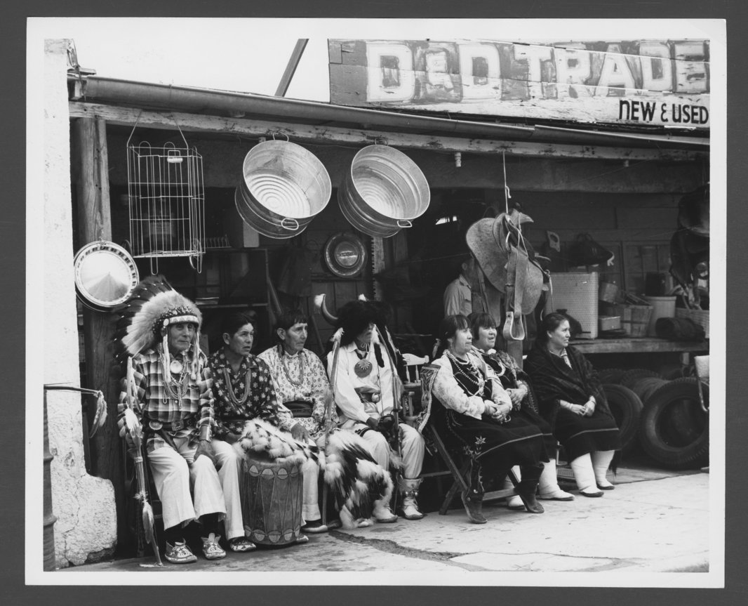 Tesuque Indians - 1