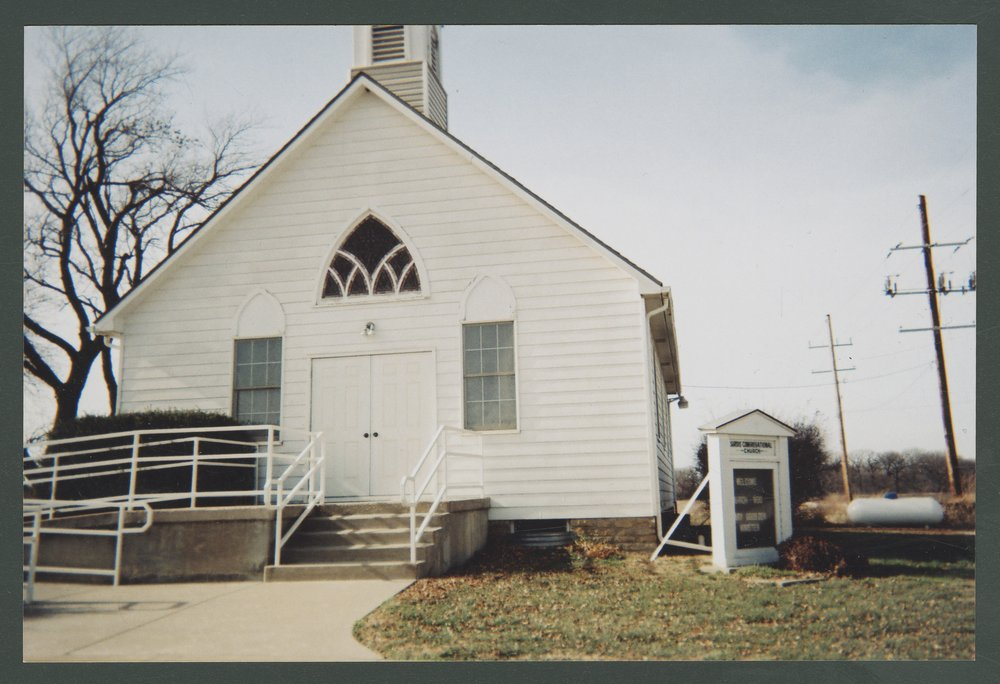 Sardis Church in Lyon County, Kansas