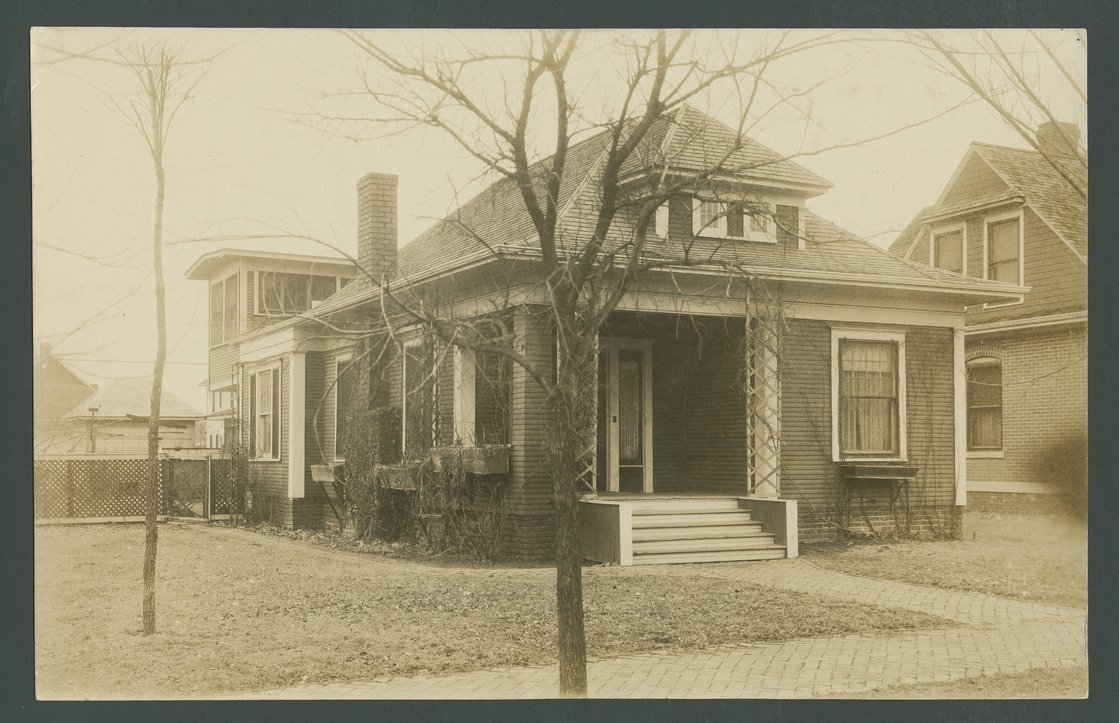 A. D. Gise home in Coffeyville, Kansas - 1