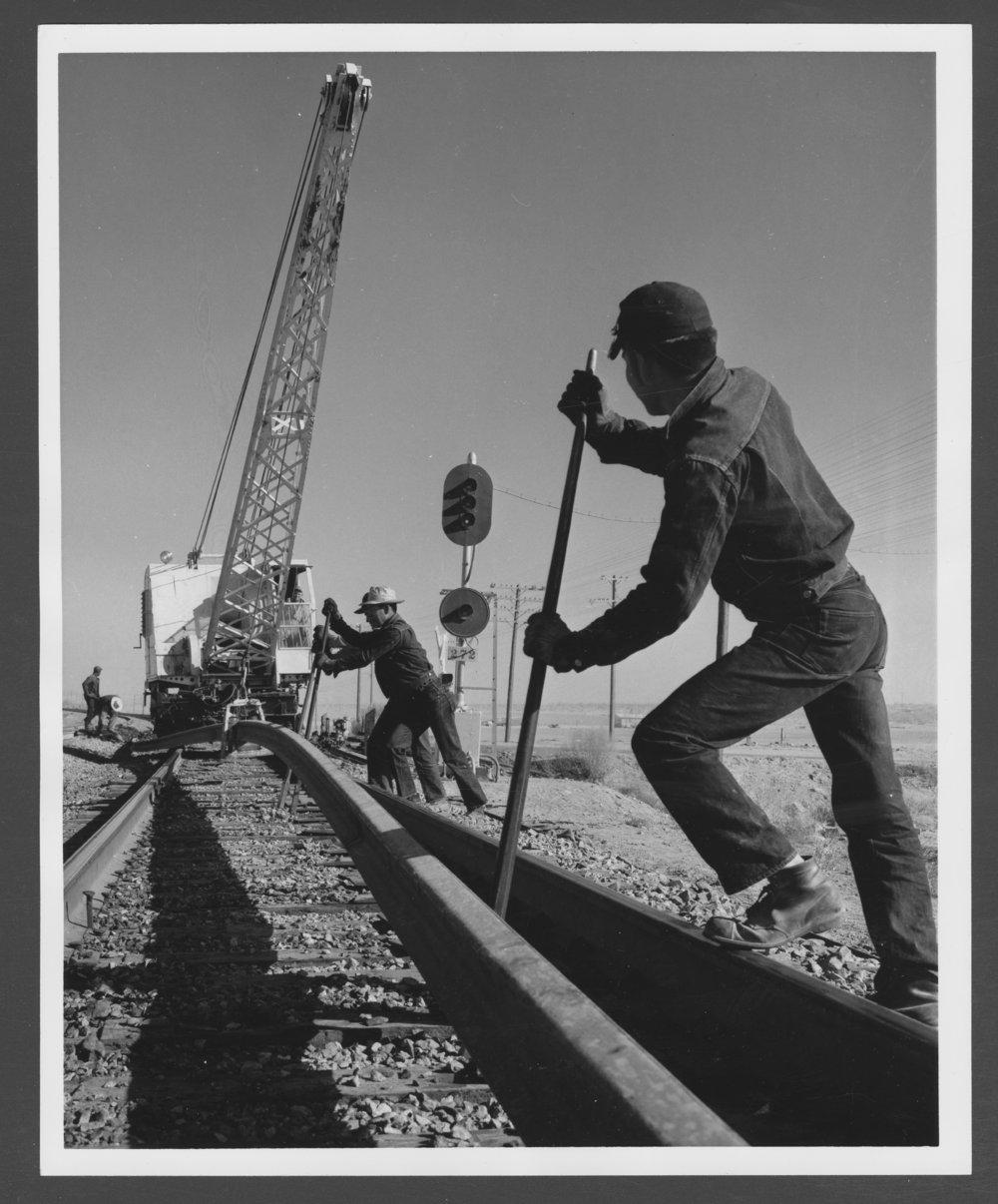 Atchison, Topeka & Santa Fe Railway Company employees - 1