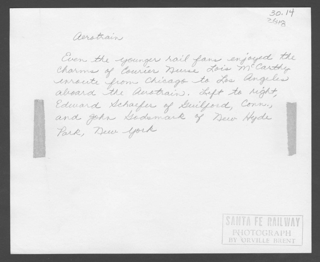Lois McCarthy, Santa Fe Courier Nurse - 2