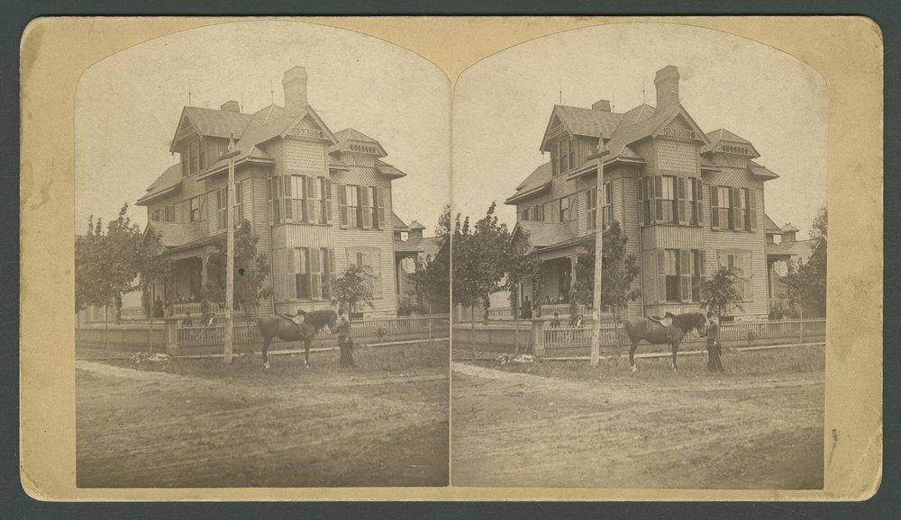 T. E. Bowman home in Topeka, Kansas - 1