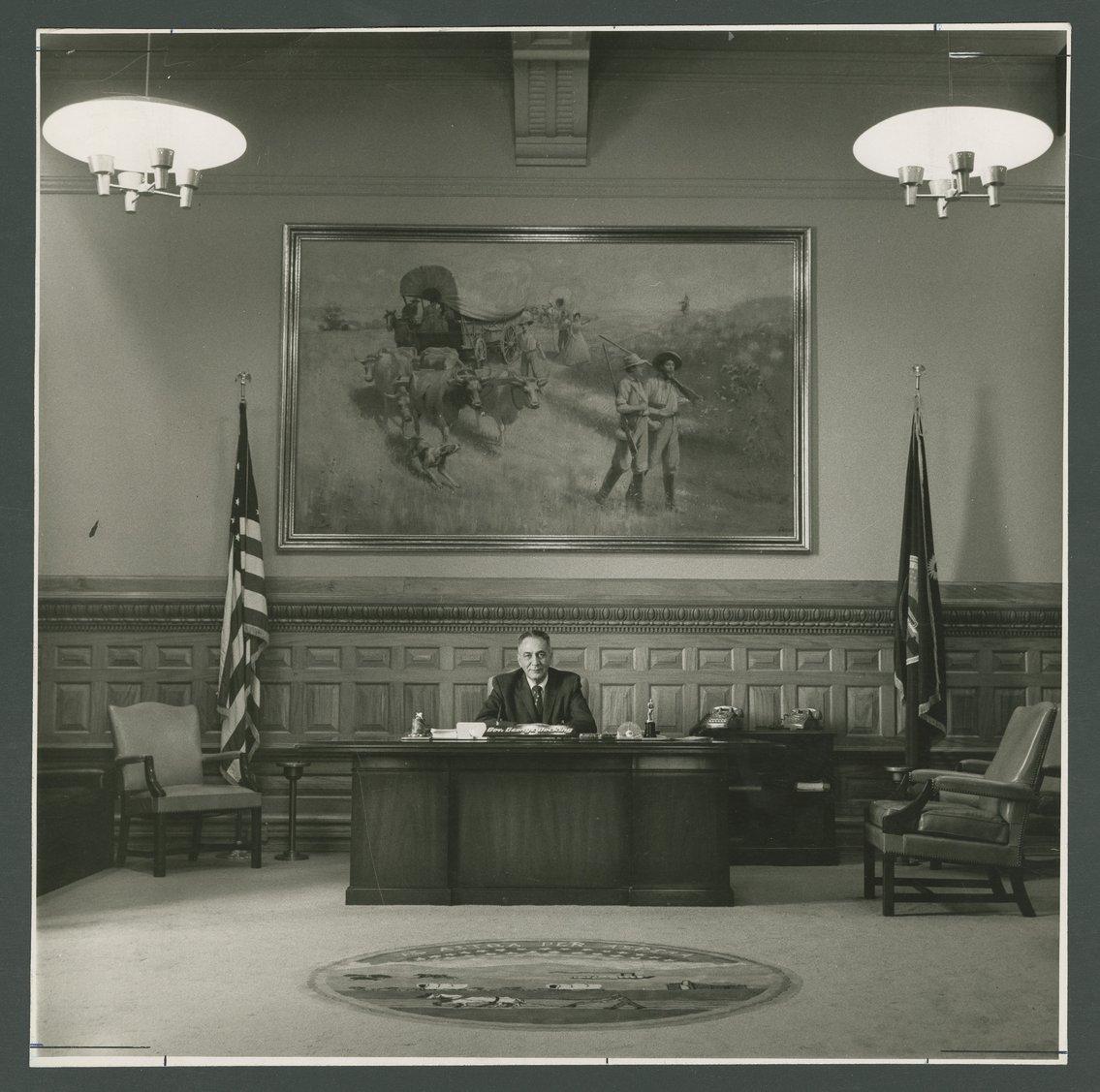 Governor George Docking - 1
