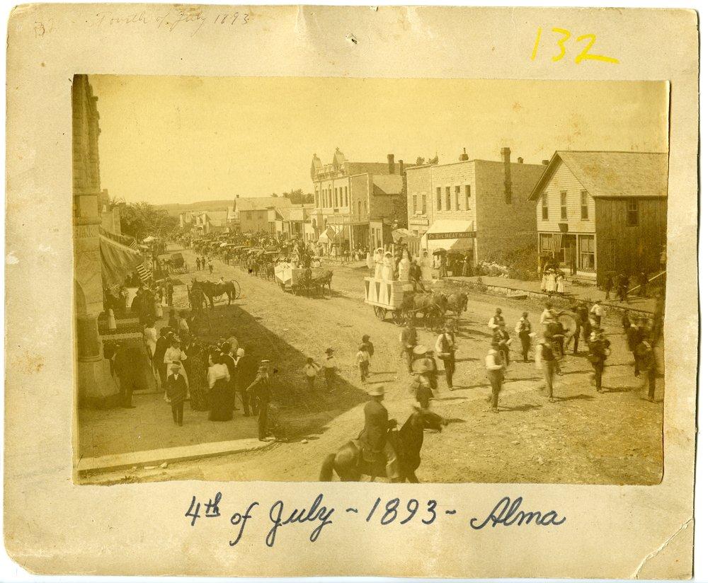 4th of July parade in Alma, Kansas - 2