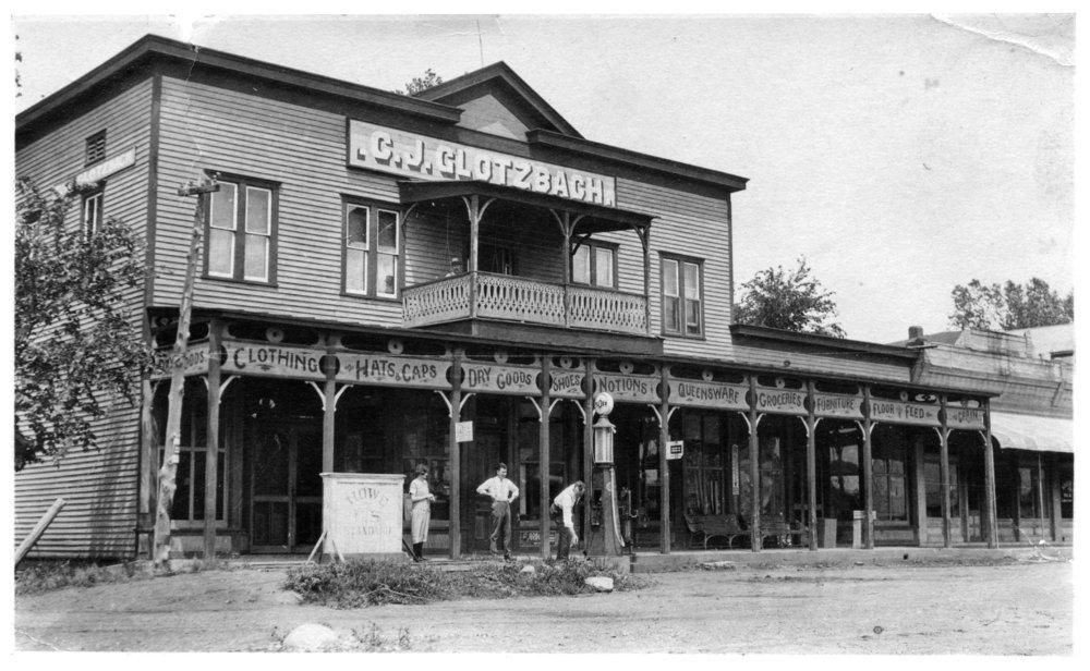 C. J. Glotzbach store in Paxico, Kansas - 1