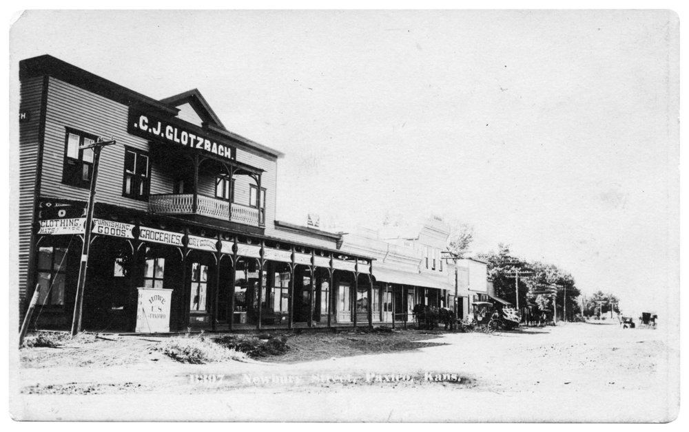 C. J. Glotzbach store in Paxico, Kansas - 2
