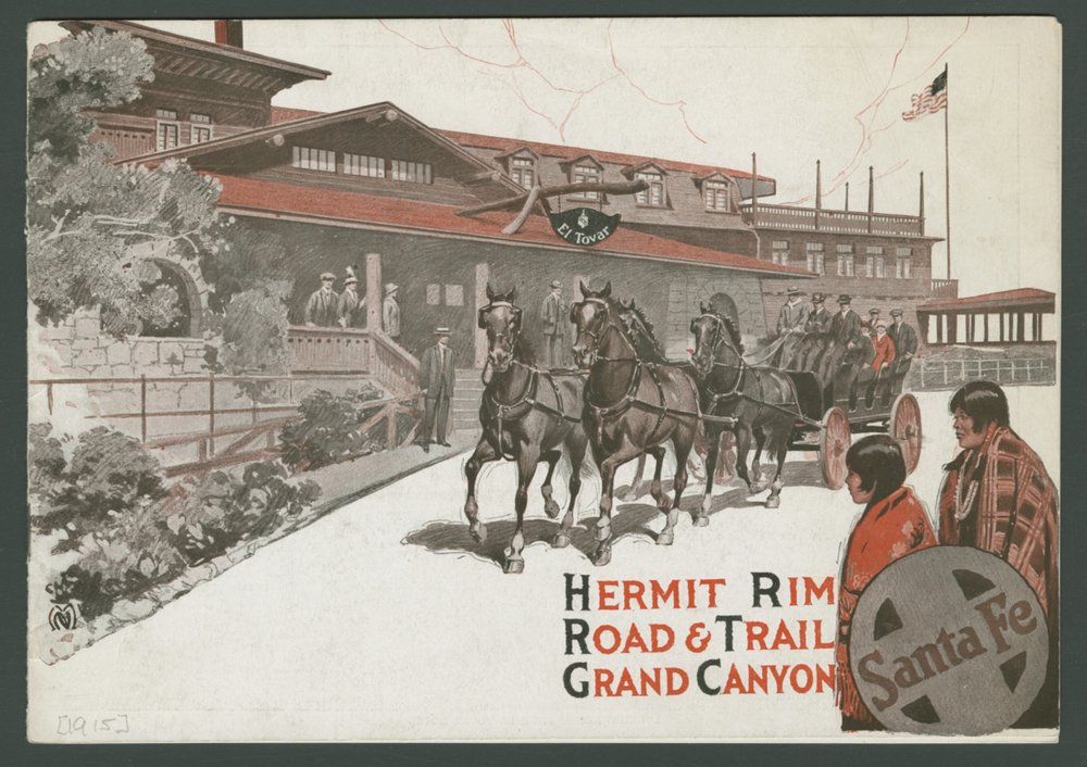 Hermit Rim, Road & Trail Grand Canyon - Cover