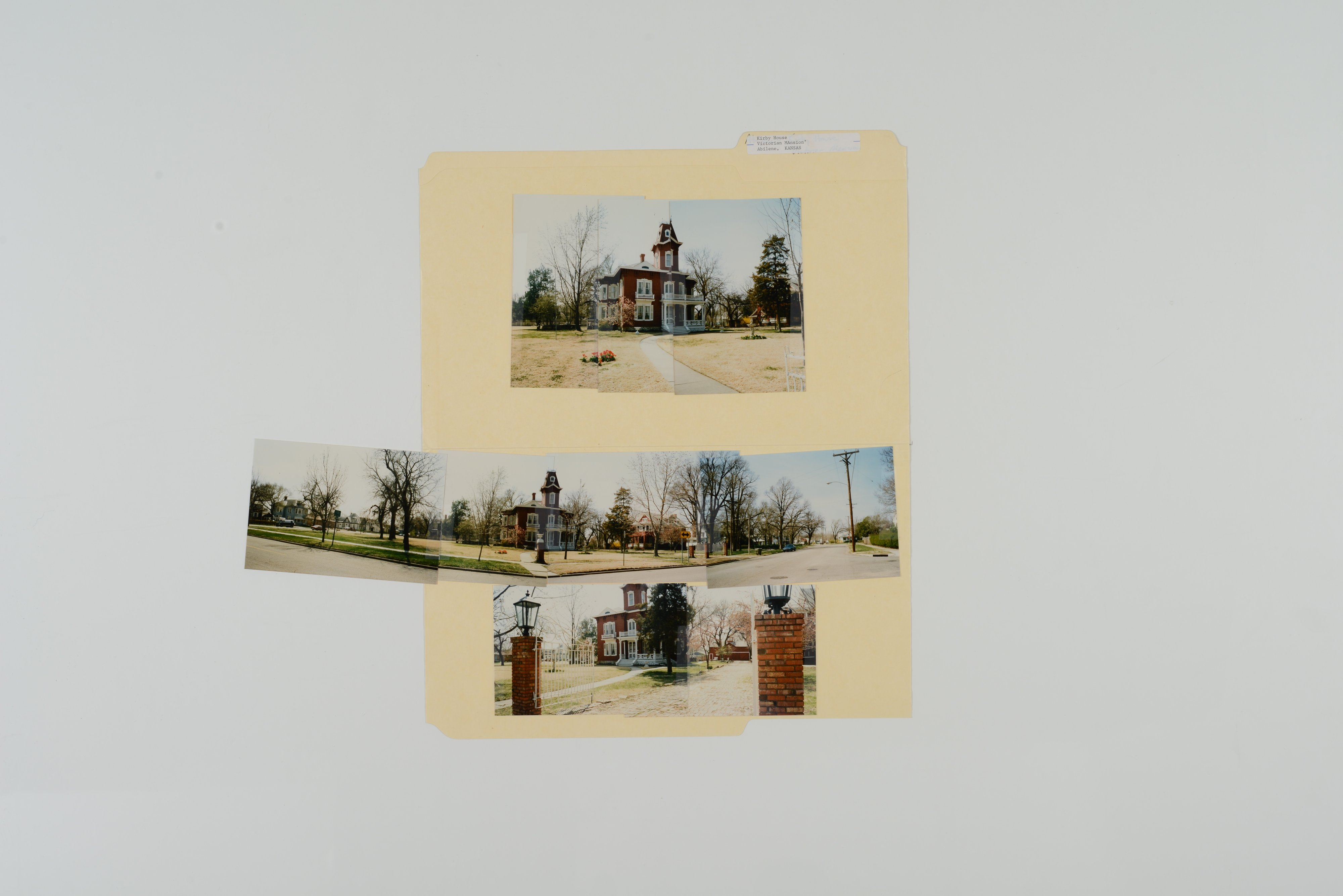 Kansas Film Commission site photographs, subject residences - 2