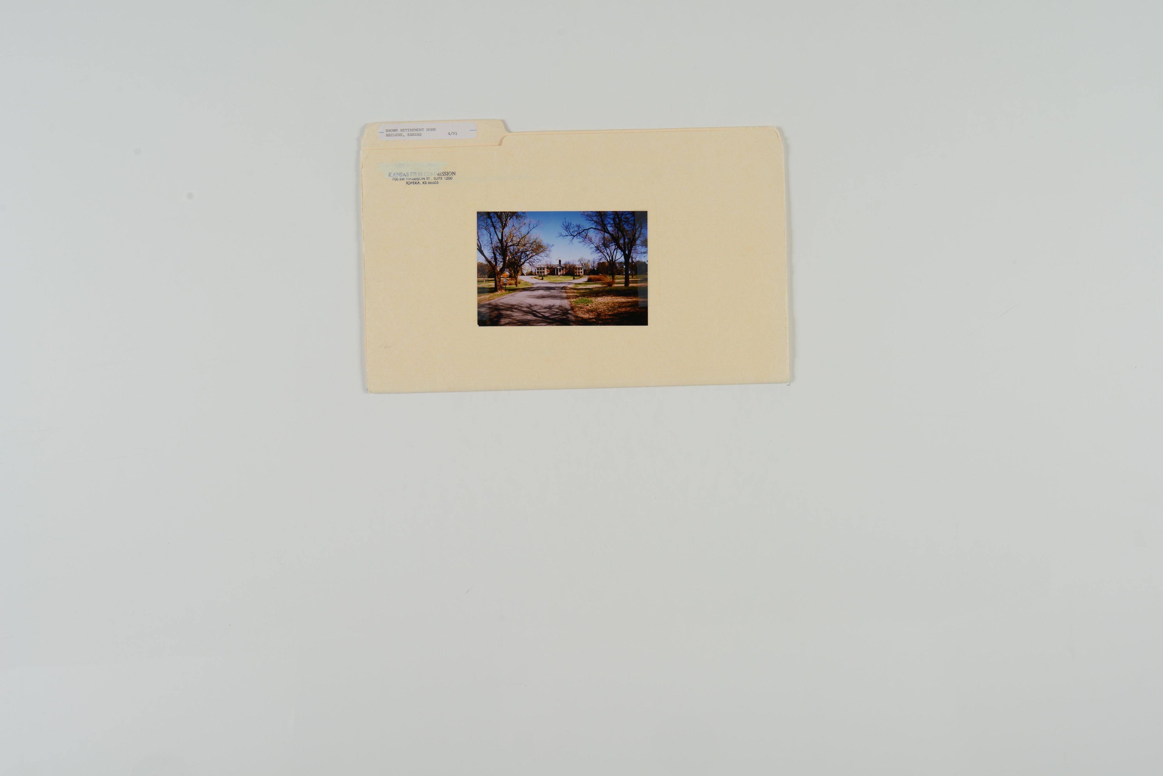Kansas Film Commission site photographs, subject residences - 5