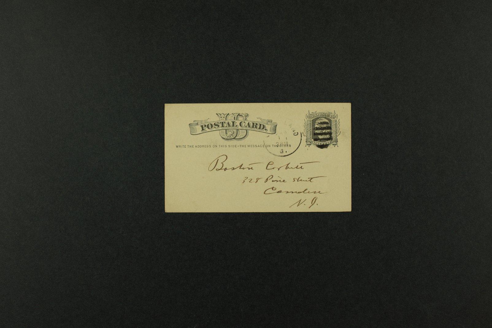 Boston Corbett correspondence - 3