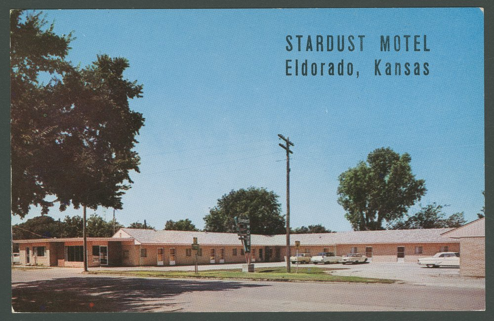 View of the Stardust Motel in El Dorado, Kansas - 1
