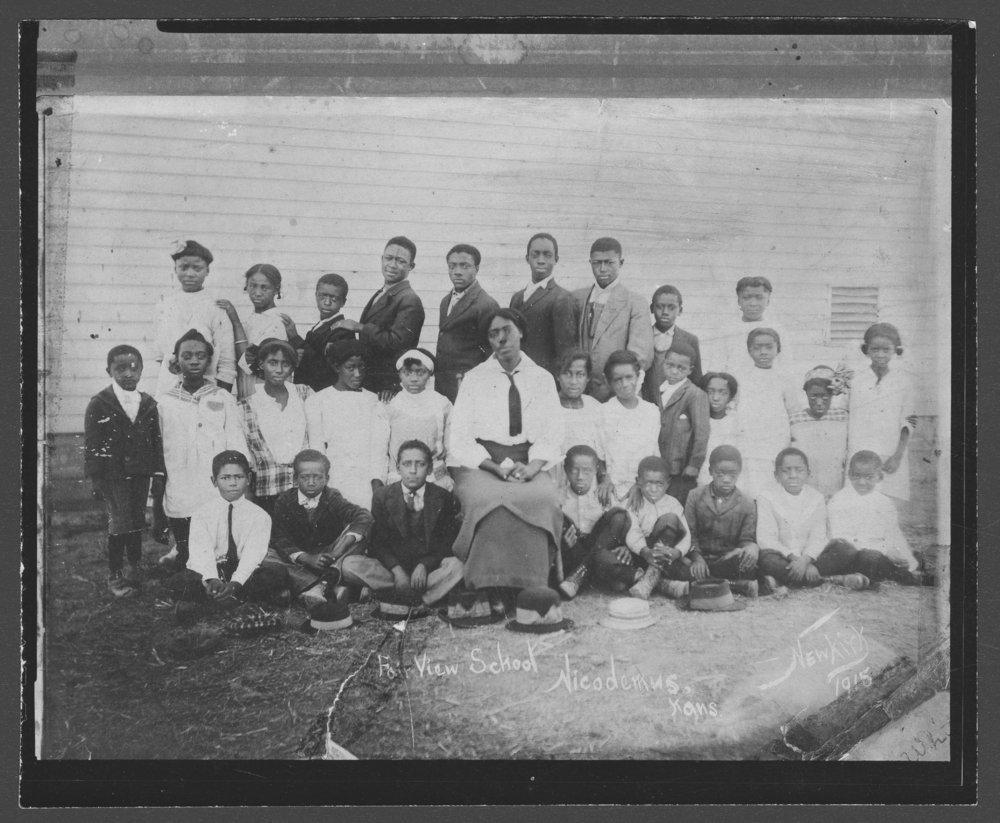 Fairview School, Nicodemus, Kansas - 1