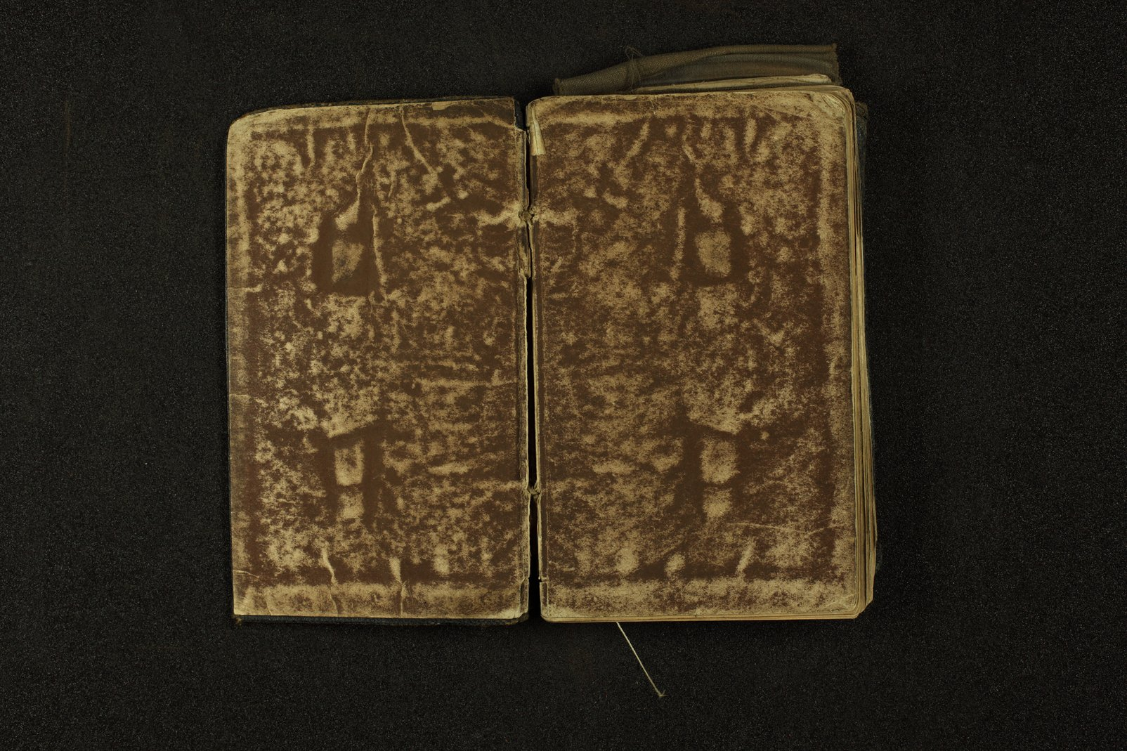 Clergyman's pocket diary and visiting book belonging to Boston Corbett - Inside cover