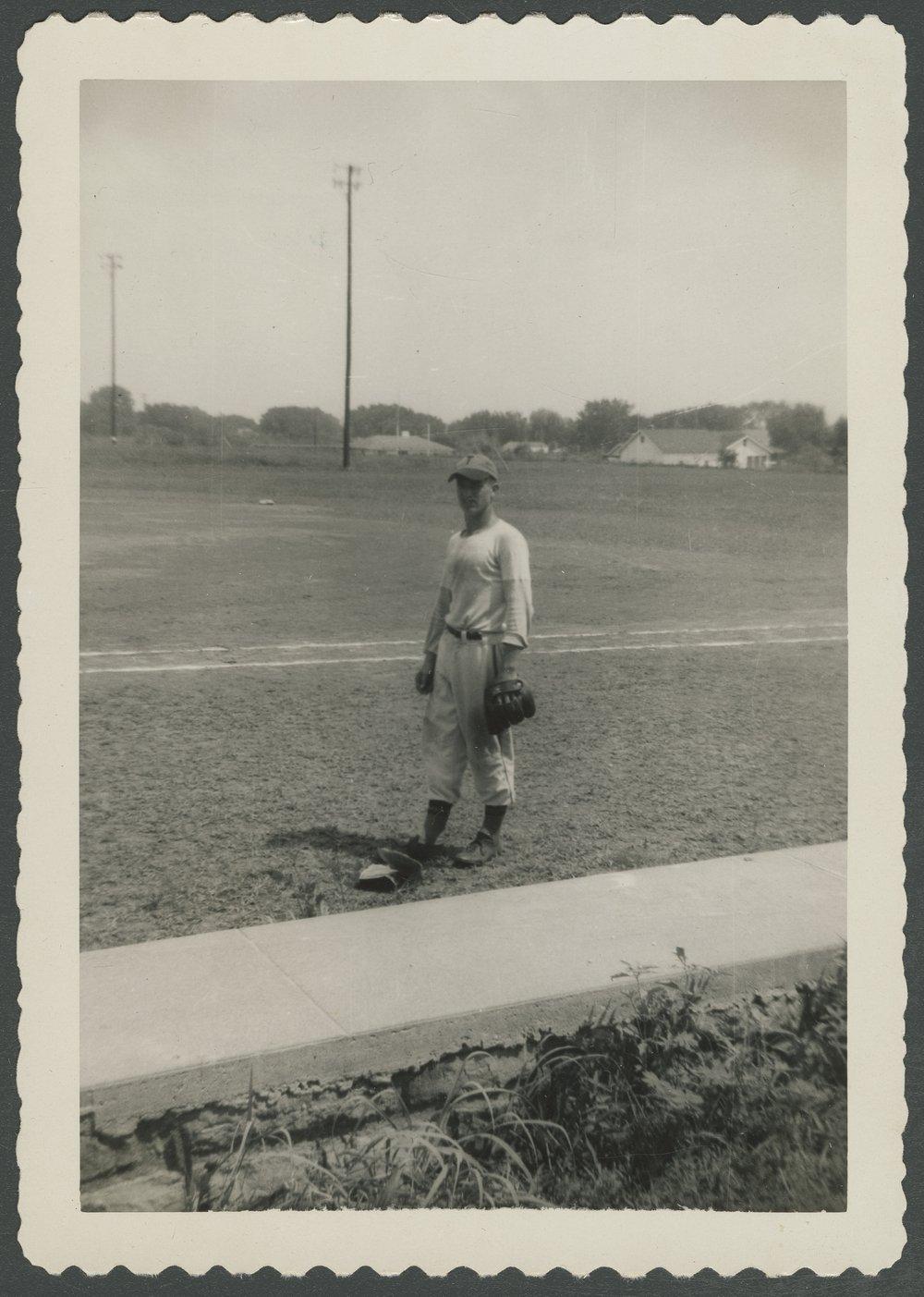 Mosby-Mack baseball team members in Topeka, Kansas - 1