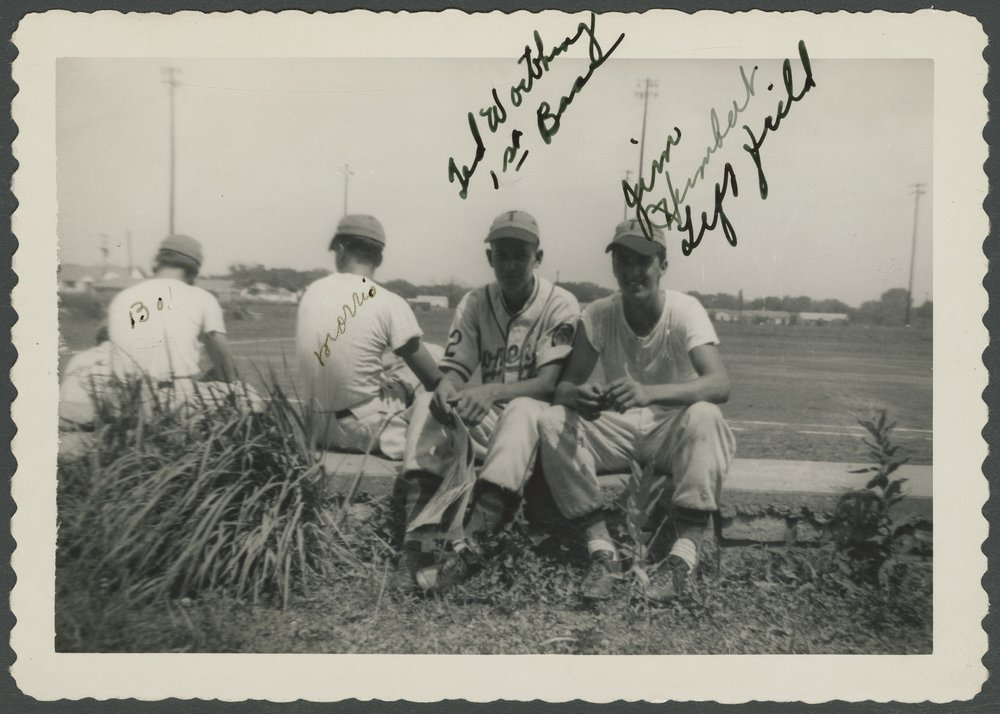 Mosby-Mack baseball team members in Topeka, Kansas - 2