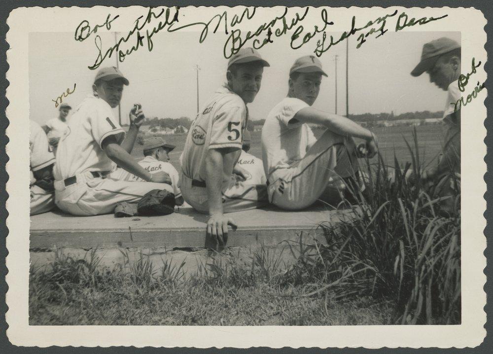 Mosby-Mack baseball team members in Topeka, Kansas - 3