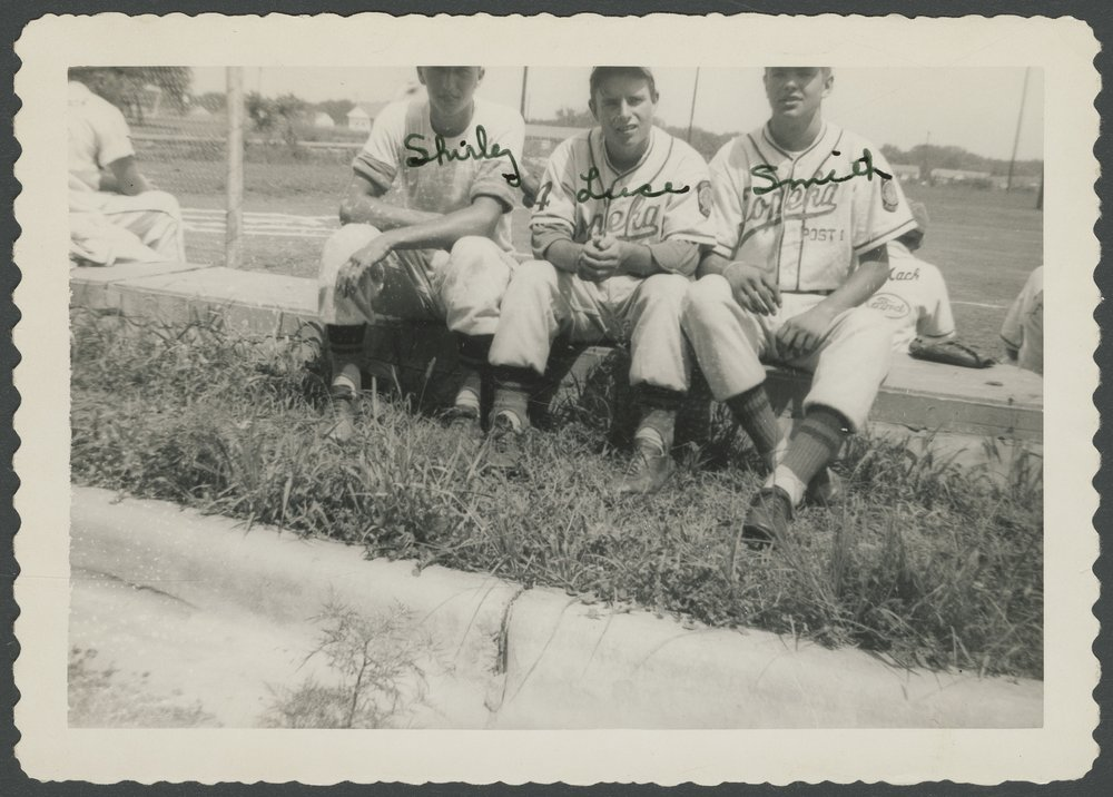 Mosby-Mack baseball team members in Topeka, Kansas - 4