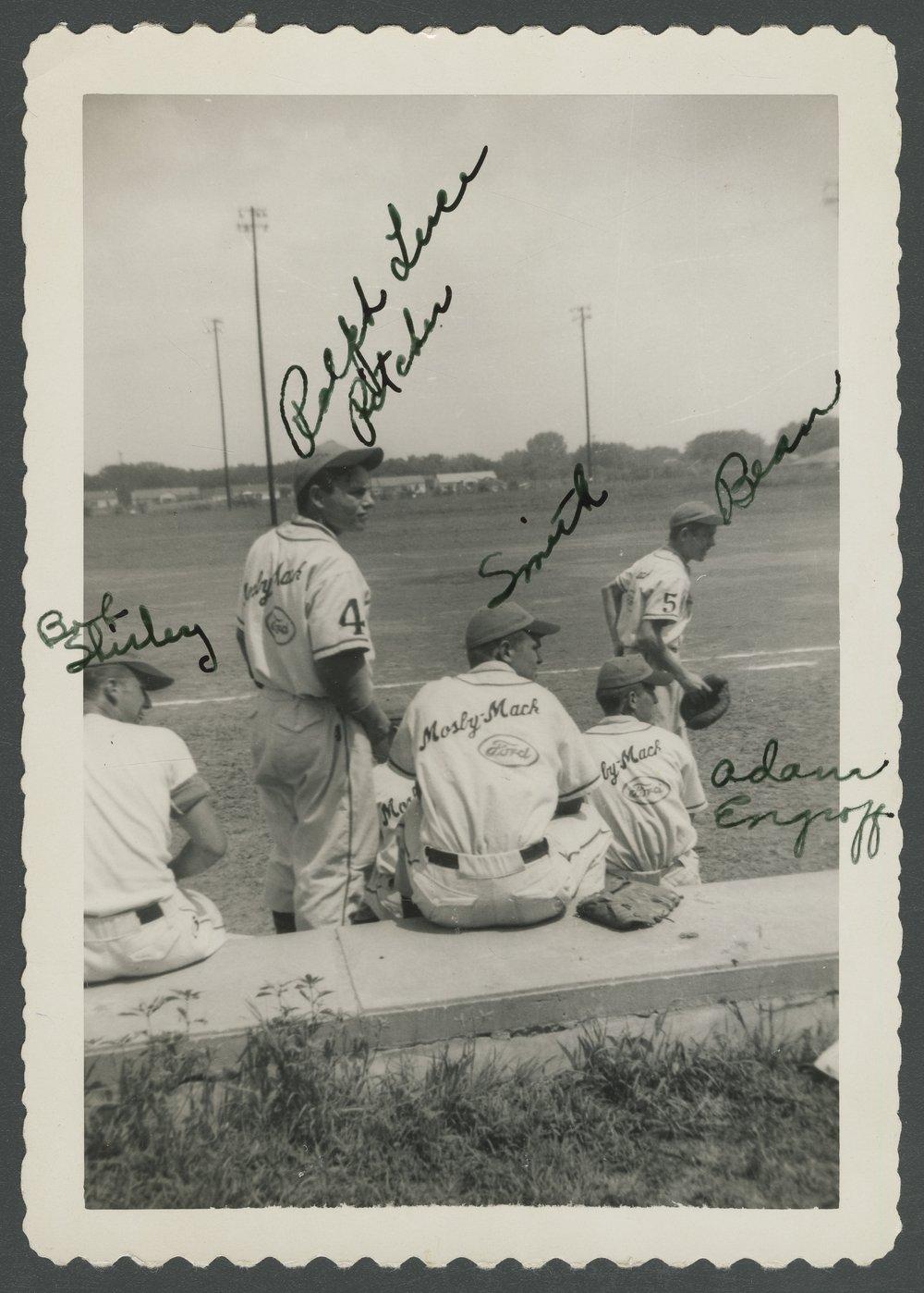 Mosby-Mack baseball team members in Topeka, Kansas - 6