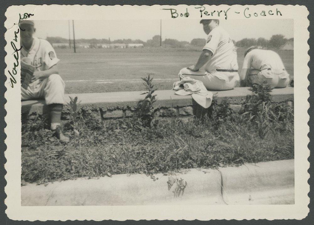 Mosby-Mack baseball team members in Topeka, Kansas - 7