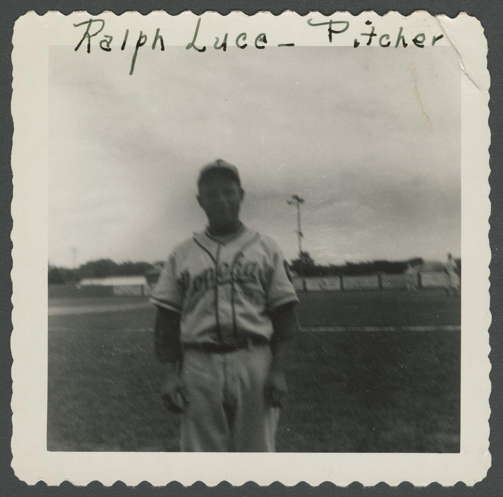 Mosby-Mack baseball team members in Topeka, Kansas - 11