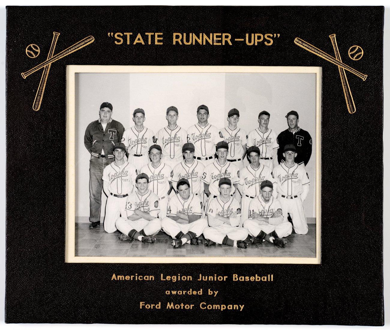 Mosby-Mack baseball team in Topeka, Kansas - 1