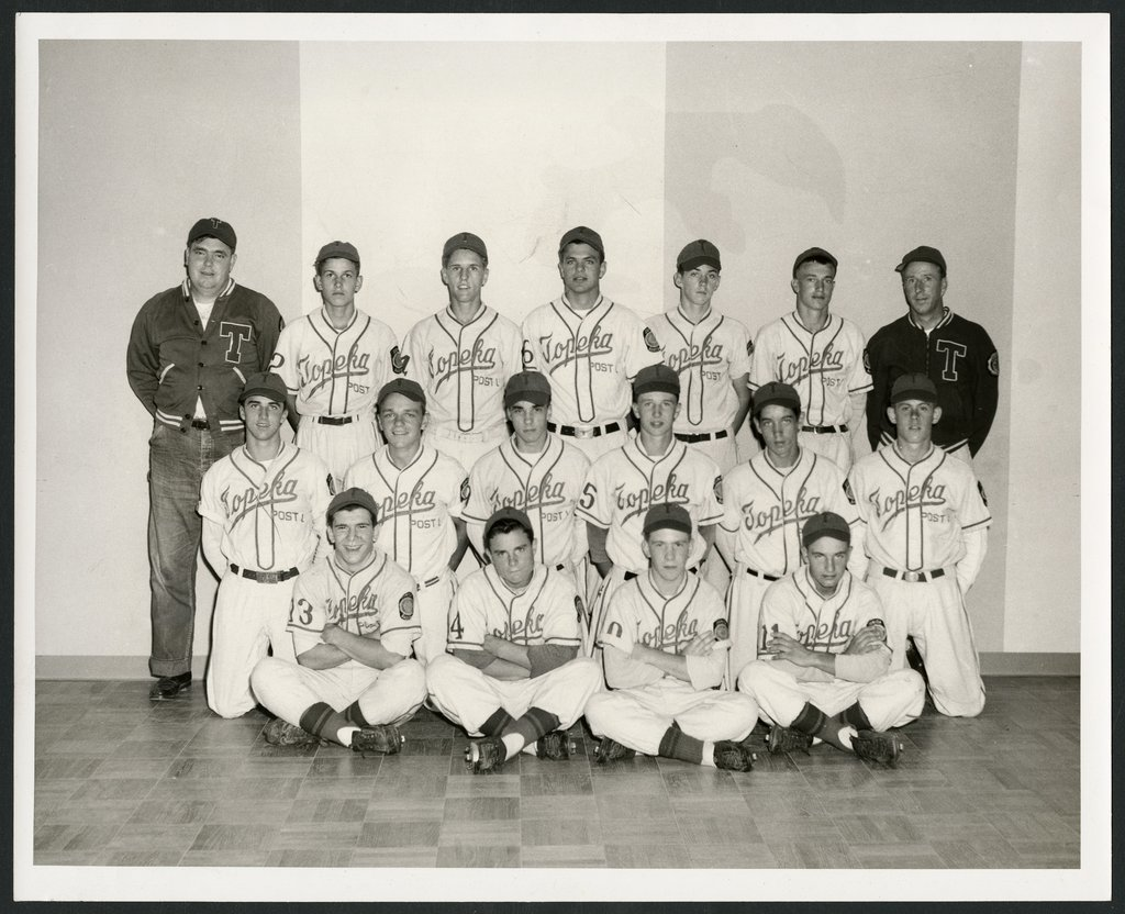 Mosby-Mack baseball team in Topeka, Kansas - 2