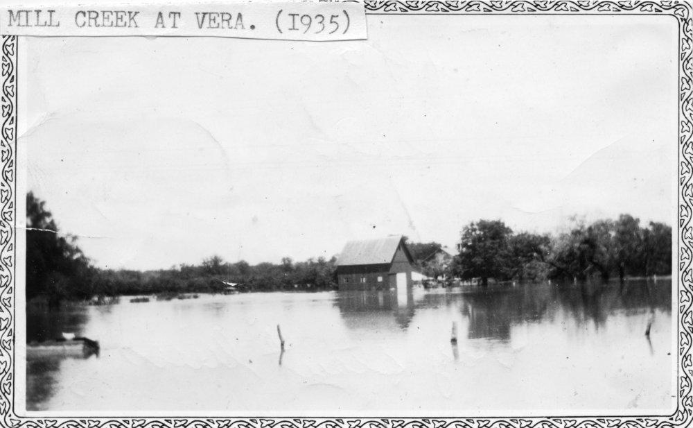 Flood in Paxico, Kansas - 1