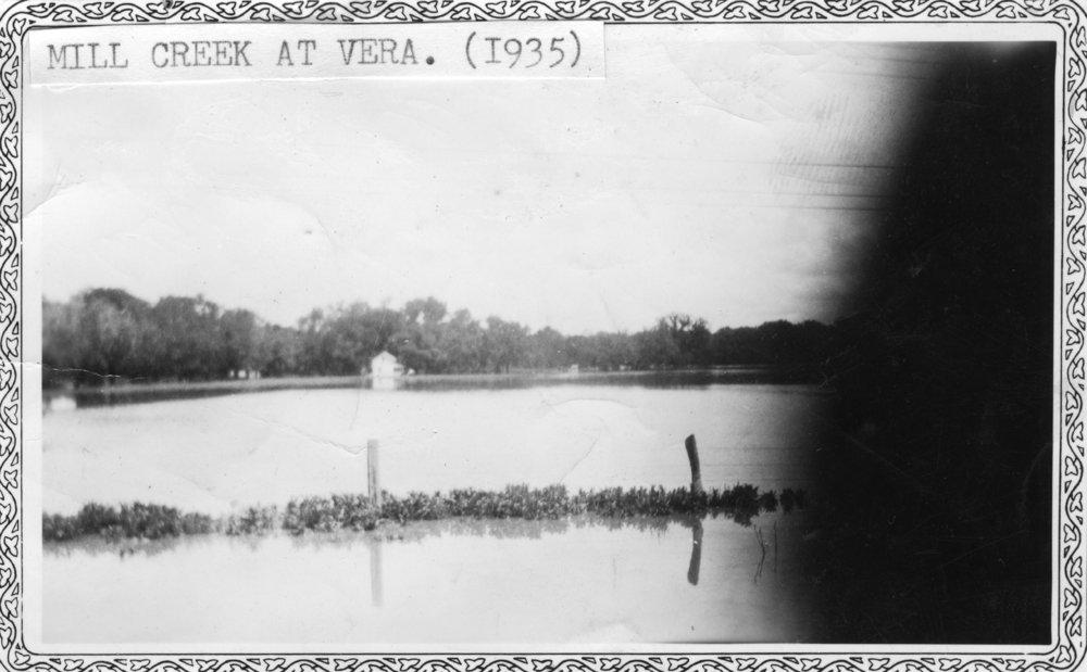 Flood in Paxico, Kansas - 2