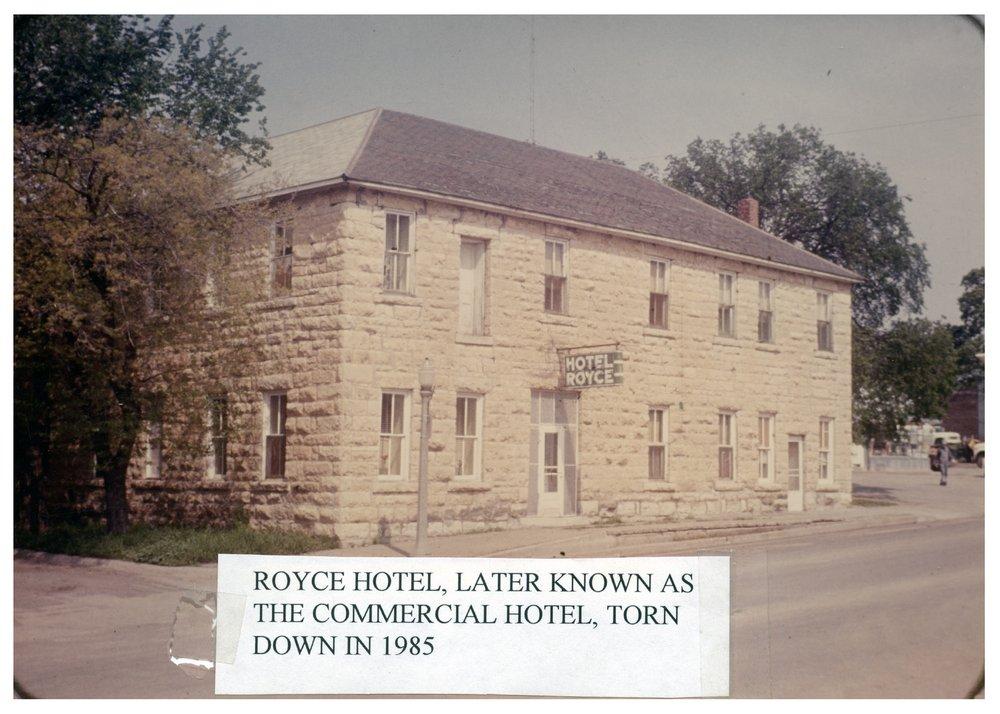 Royce Hotel in Alma, Kansas - 2
