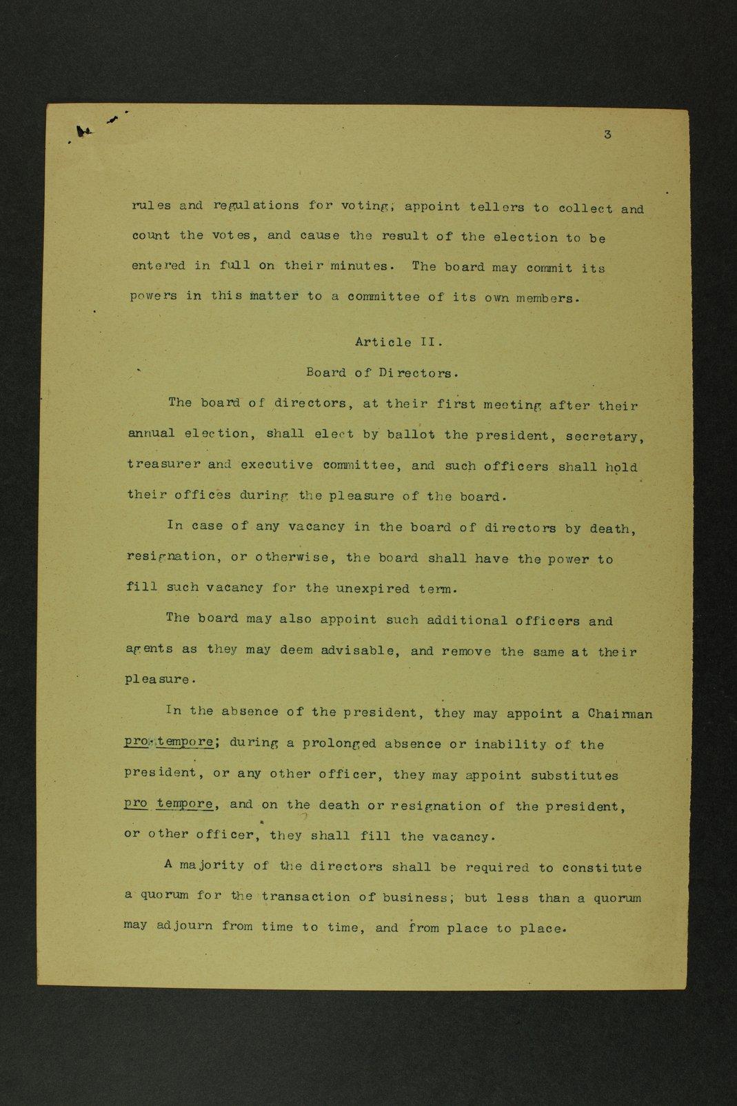 East Abilene Town Company records - 5