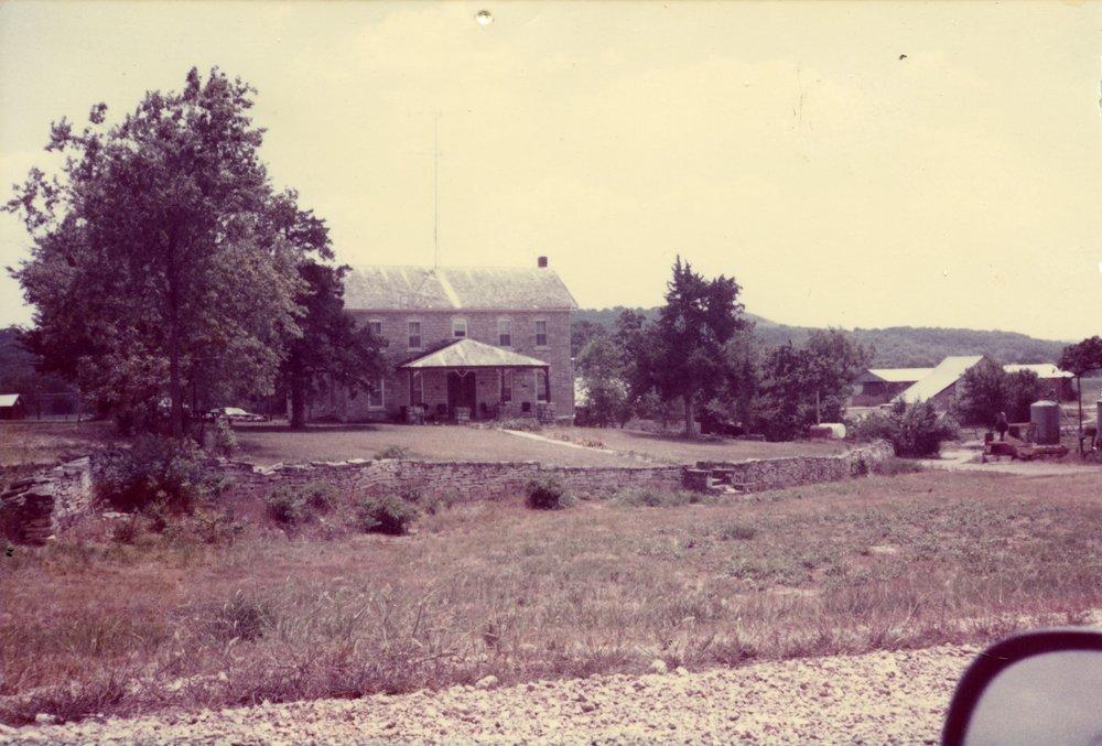 Schultz house located west of Volland, Kansas - 1