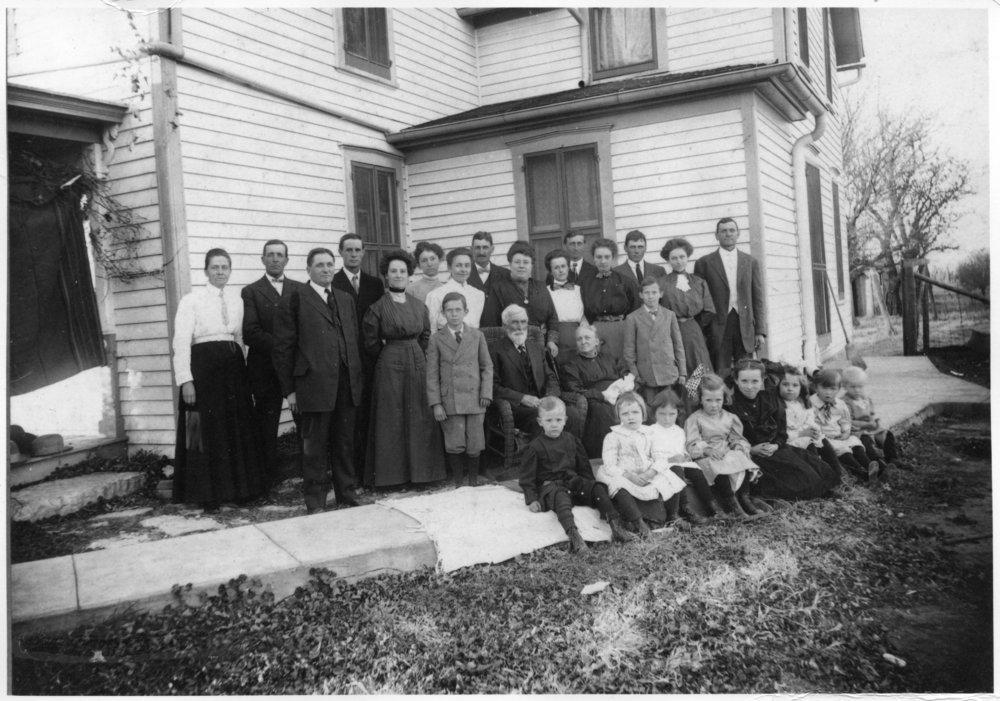 John and Mary Dibble Smith family in Wabaunsee, Kansas - 2