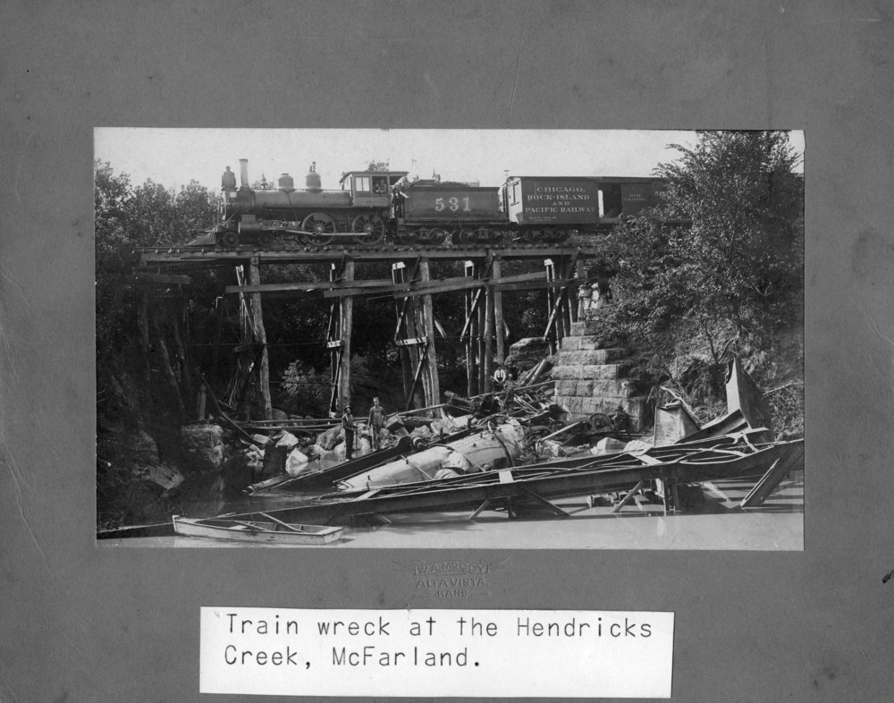 Chicago, Rock Island and Pacific Railway train wreck, McFarland, Kansas - 1