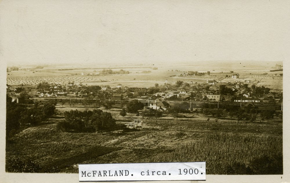 Bird's eye views of McFarland, Kansas - 1