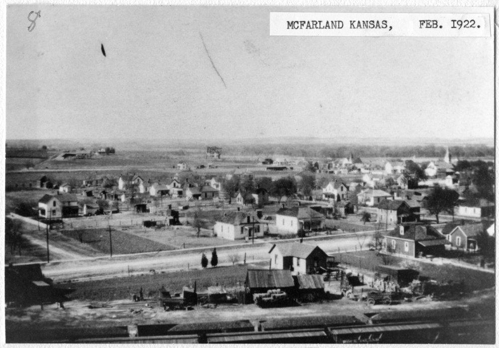 Bird's eye views of McFarland, Kansas - 3
