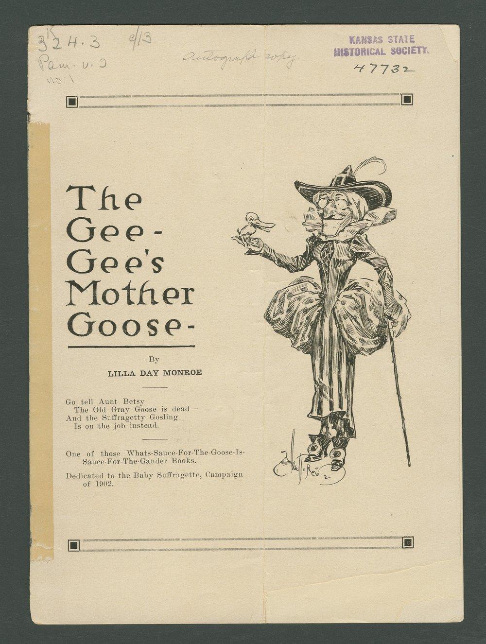 The Gee-Gee's Mother Goose - Kansas Memory - Kansas