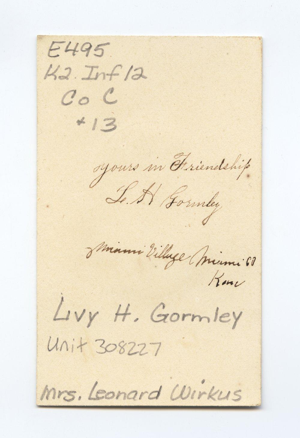 Livy H. Gormley - 2
