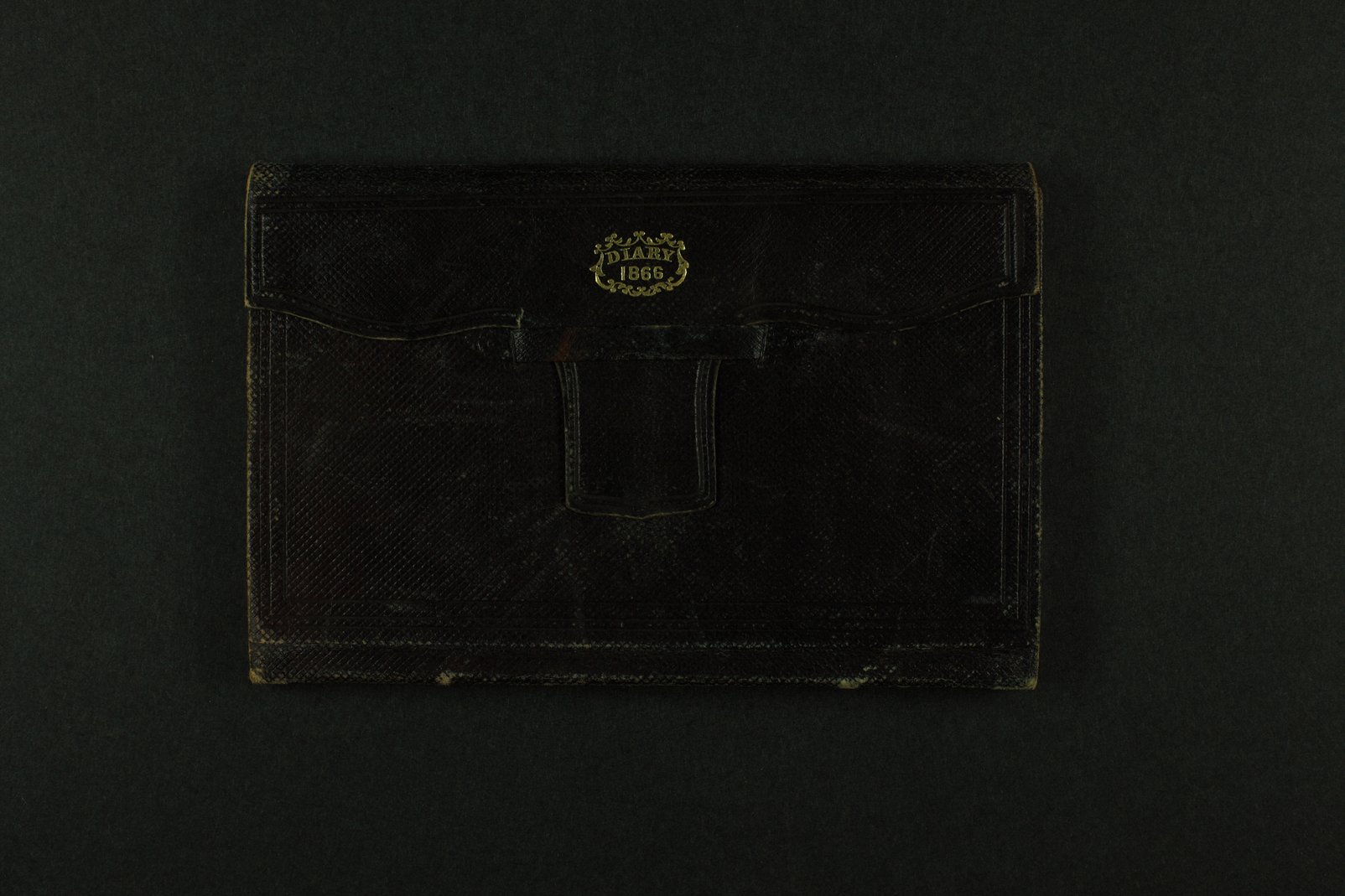 William E. Goodnow diary - 1  [Cover]