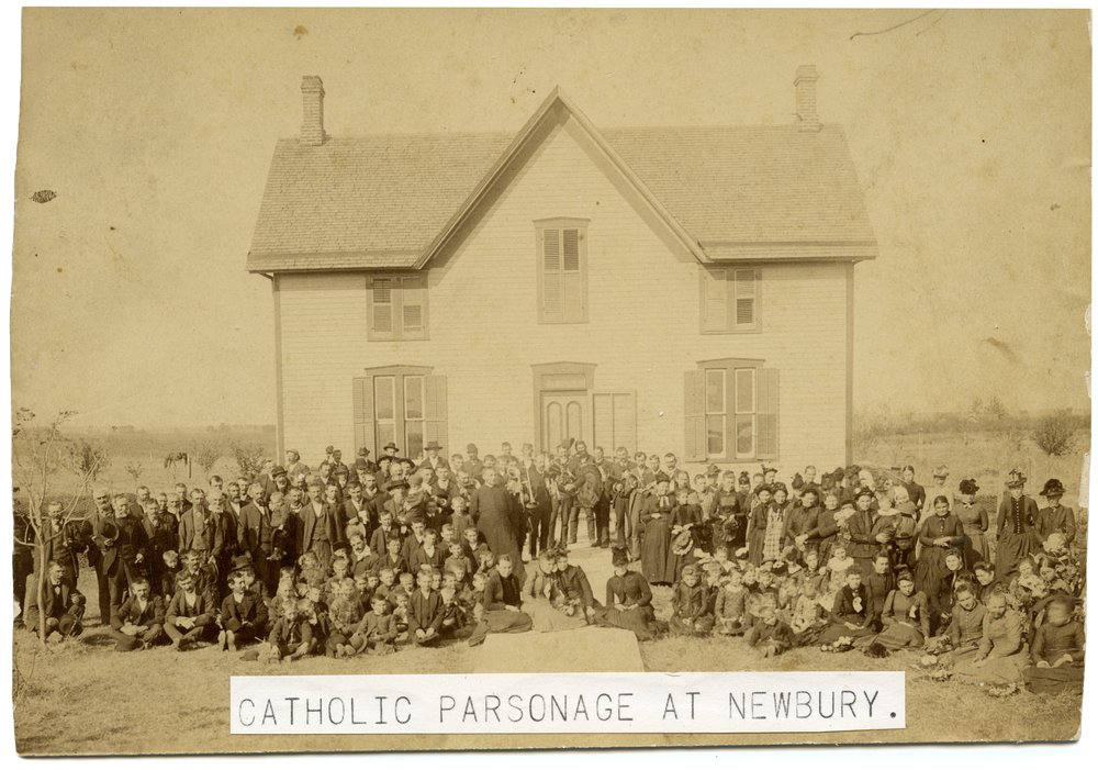 Catholic Parsonage in Newbury, Kansas