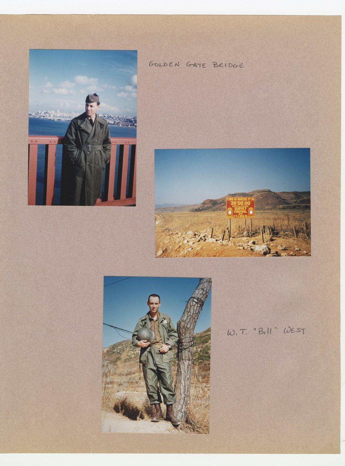 William Thomas West's Korean War photograph album - 3