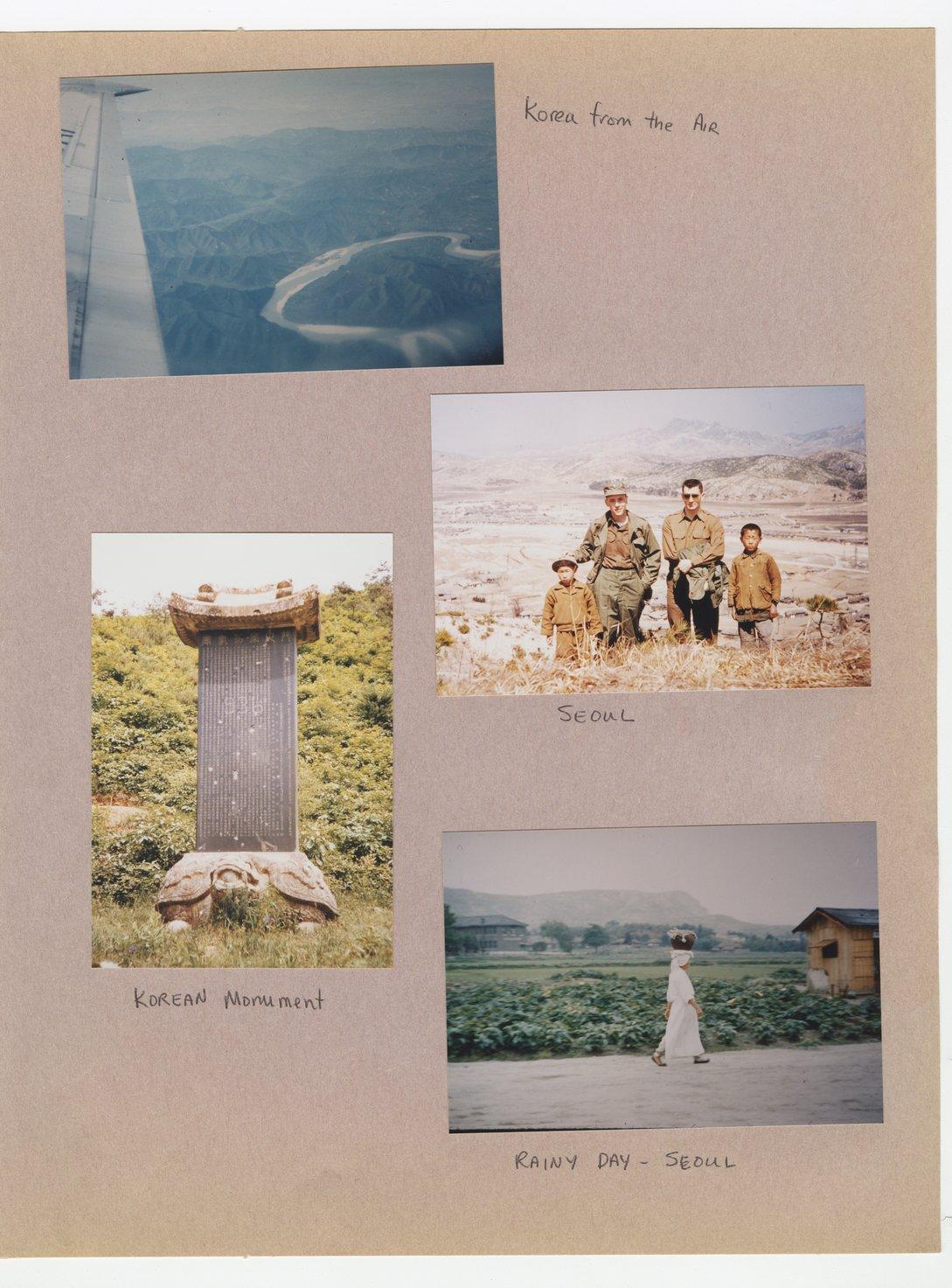 William Thomas West's Korean War photograph album - 5