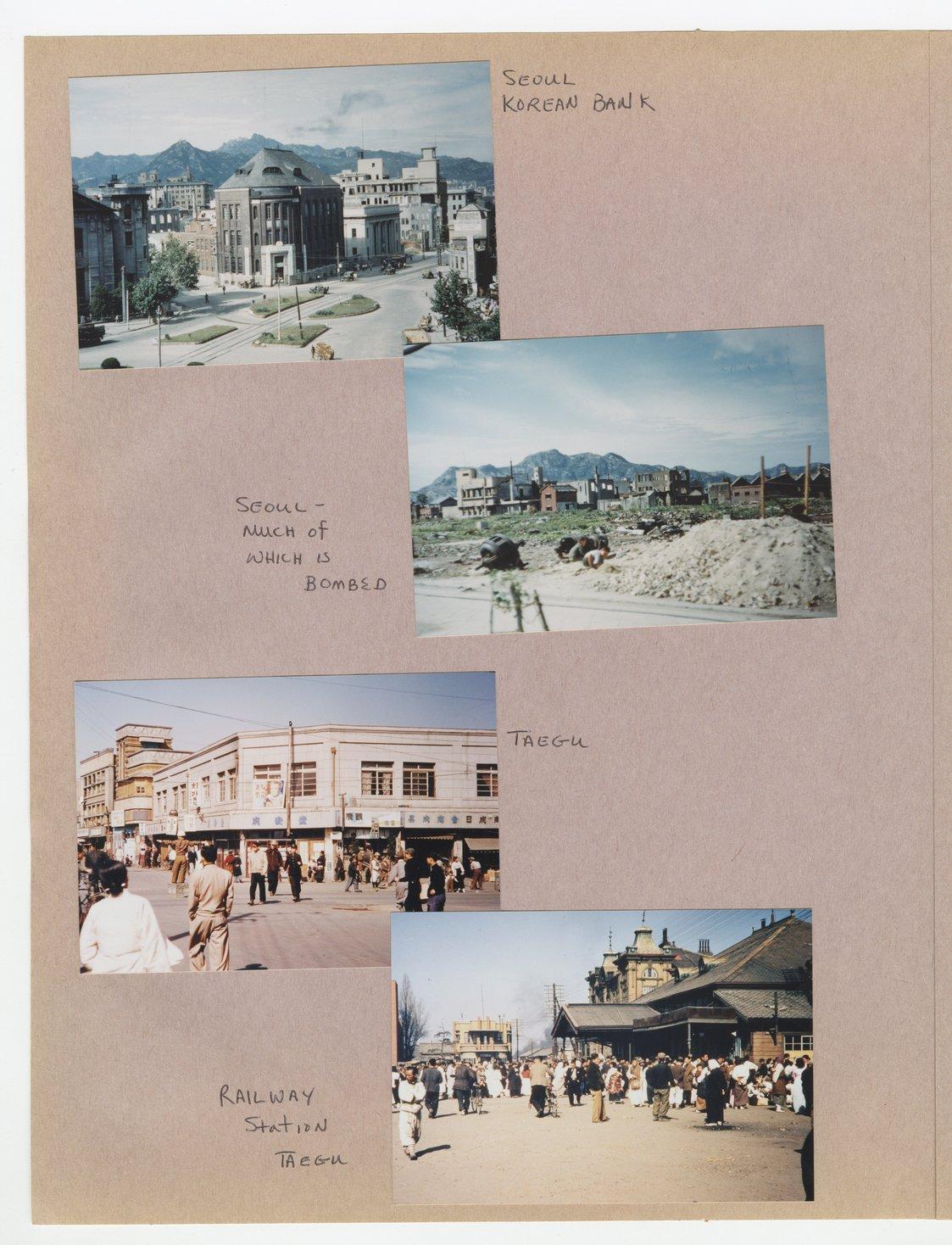 William Thomas West's Korean War photograph album - 6