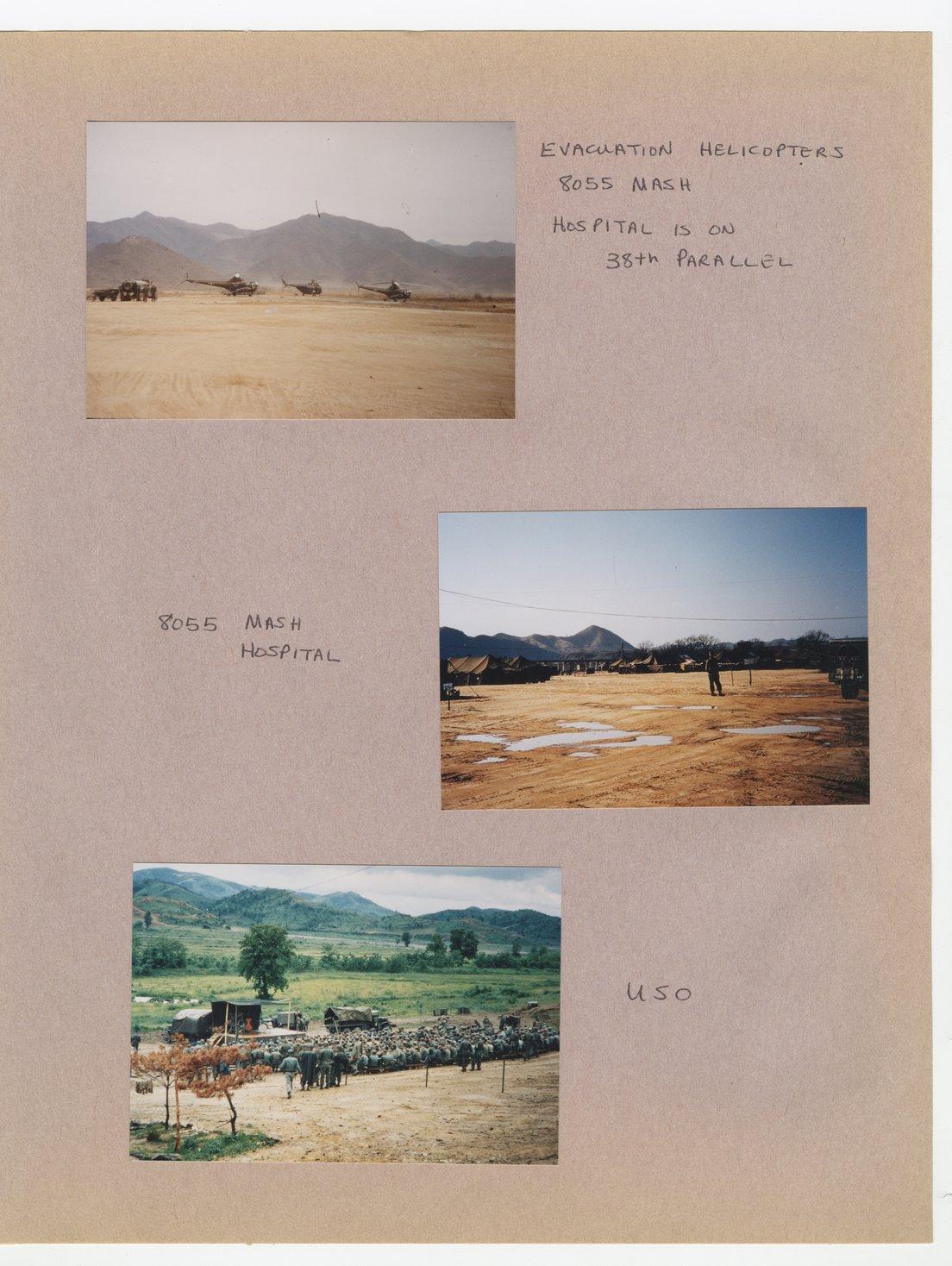 William Thomas West's Korean War photograph album - 9