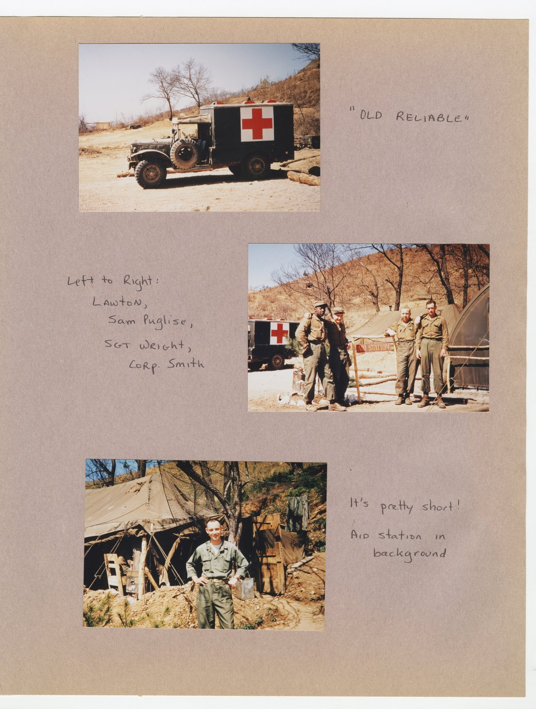 William Thomas West's Korean War photograph album - 11