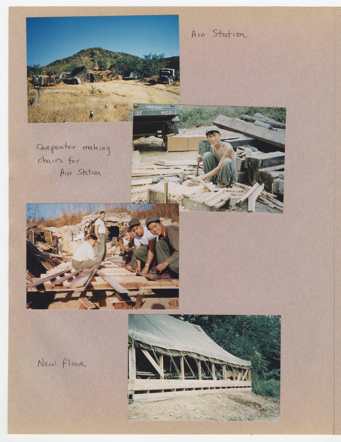 William Thomas West's Korean War photograph album - 12