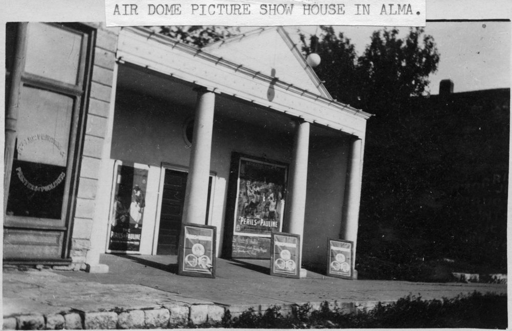 Air-Dome Theater in Alma, Kansas