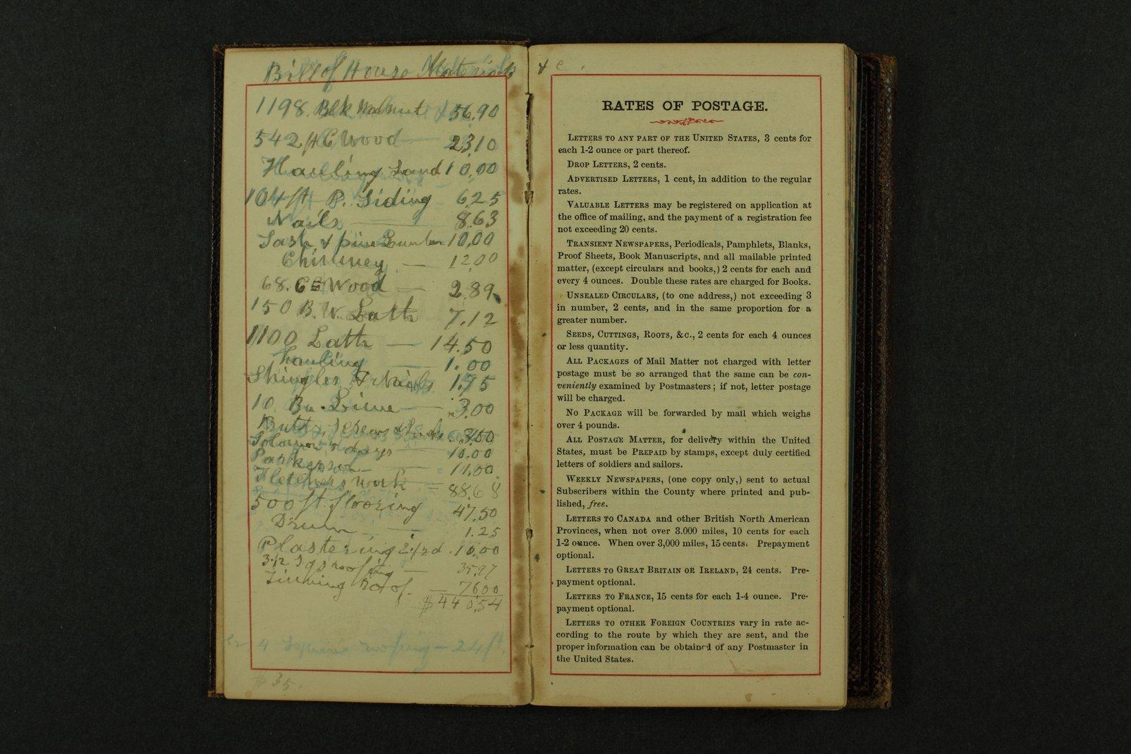 Isaac Tichenor Goodnow diary - 4