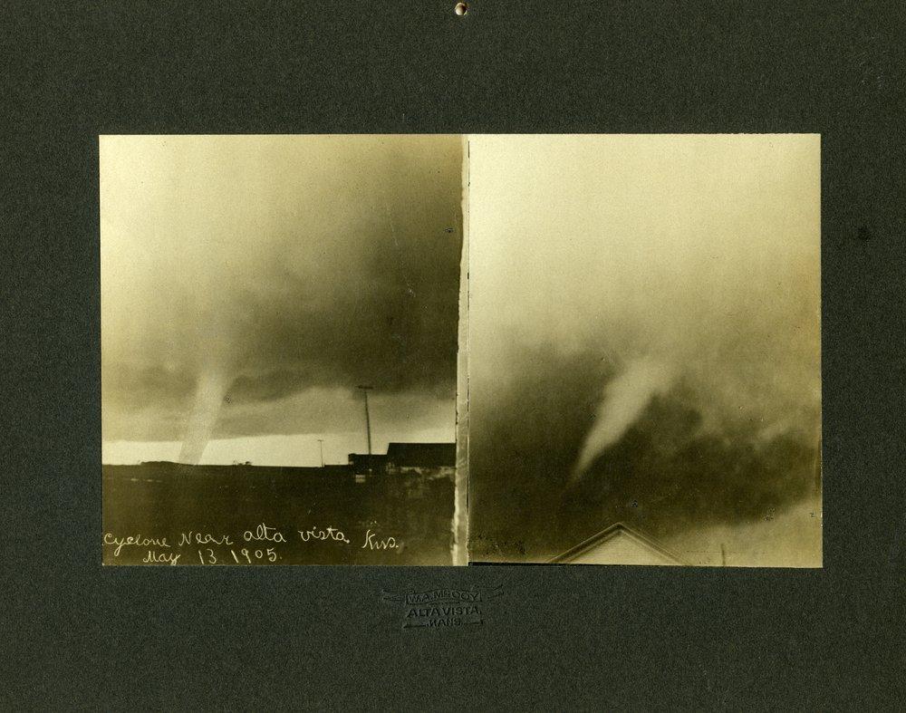 1905 tornado in Alta Vista, Kansas