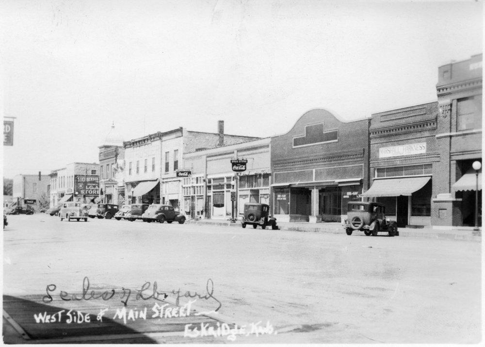 Main Street in Eskridge, Kansas