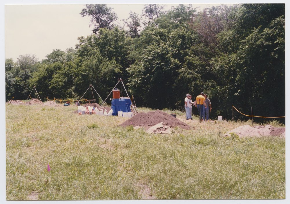 Kansas Archeology Training Program field school at  Fort Ellsworth - 2